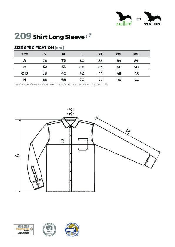 Shirt long sleeve/Style LS