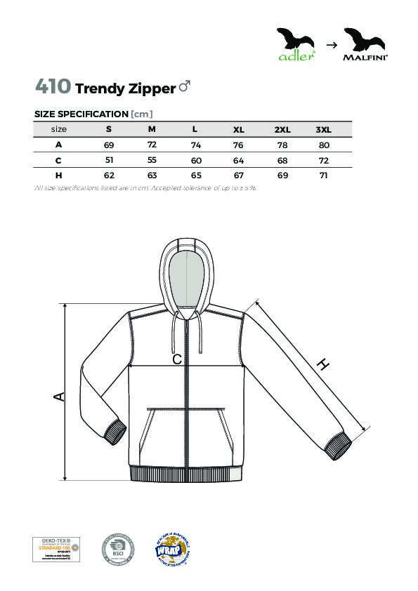 Trendy Zipper