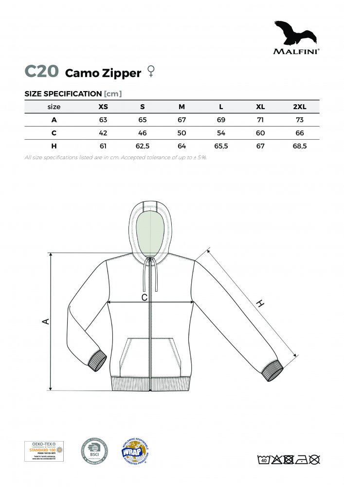 Camo Zipper